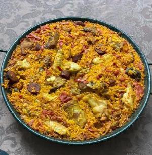 Paella Vlees